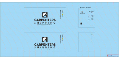 CARPENTERS 20ft Standard Container
