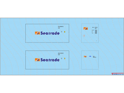 Seatrade 20ft Standard Kühlcontainer