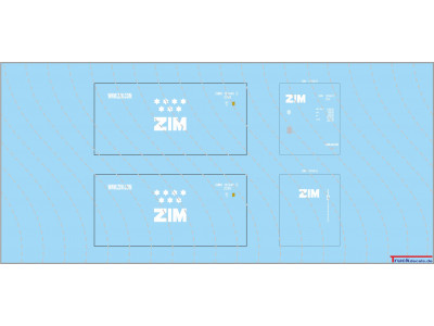 ZIM 20ft Standard Container