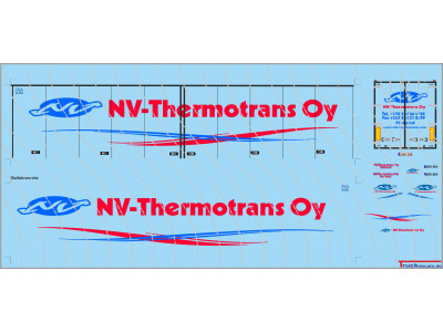 NV-Thermotrans Oy Scania R TL Kühlkoffersattelzug